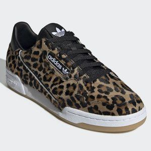 ADIDAS CONTINENTAL 80 Leopard sneakers sz 9.5